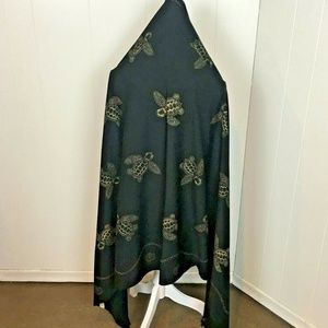 Accessories - Large Scarf or Wrap, Turtle Graphics